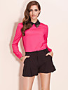 TS Color Block Metal Blouse Shirt (More Colors)