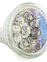 MR11 9-LED blanches ampoules 30lm place 0.8W (12V)