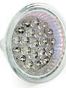 1W GU10 / GU5.3(MR16) LED-spotlights MR16 21 DIP-LED 65 lm Varmvit / Naturlig vit DC 12 / AC 12 / AC 220-240 V