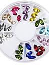 1200 Manucure Dé oration strass Perles Maquillage cosmétique Manucure Design