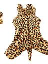 tiger formet myk kostyme for hunder (xs-xl, assorterte farger)