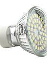 3W GU10 LED-spotlights MR16 48 SMD 3528 180 lm Naturlig vit AC 220-240 V