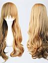 lolita peruca inspirada pela onda marrom japonês clássico estilo de 60 centímetros