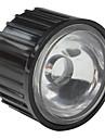 20mm 120° Optical Glass Lens with Frame for Flashlight, Spot Light