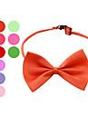 eleganta justerbar bowtie halsband halsband för hundar (slumpmässiga färger)