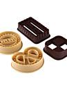 bakformen För Tårtor För Kakor för choklad Plast DIY Hög kvalitet Miljövänlig