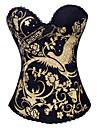 bumbac / poliester cu stras / dantelă spate fara bretele Busk închidere corsete shapewear (mai multe culori)