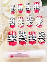 couverture complète rouges léopard ongles acryliques motif de style et astuces avec de la colle à ongles