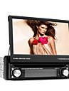 7-дюймовый экран TFT 1 DIN в тире автомобильный DVD-плеер с Bluetooth, навигации, готов GPS, RDS, съемная панель, телевизор
