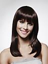 Capless 100% Human Hair Shoulder-length  Bob Style Hair Wig 5 Colors To Choose