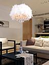 Max 60W Contemporain / Batterie Cristal / Style mini Plaqué Lampe suspendue Salle de séjour / Chambre à coucher / chambre d'enfants