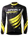 SPAKCT® Cykeltröja Herr Lång ärm Cykel Andningsfunktion / Snabb tork / Ultraviolet Resistant / Bärbar Tröja / Överdelar 100% Polyester