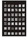 Nouveau Nail Art Stamp recommandée Plaque Stamping Image de tasse
