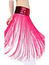 dancewear de poliéster con borla / cinturón de lentejuelas danza del vientre para las damas más colores