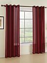 Deux Panneaux Le traitement de fenêtre Moderne , Solide Salle à manger Matériel Rideaux opaques Décoration d'intérieur For Fenêtre