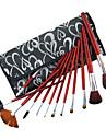 Color Shine-hög kvalitet persiska ull pensel set (12st)