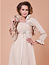 Party/Evening Chiffon / Satin Coats/Jackets Long Sleeve Wedding  Wraps