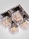 Montaj Flush ,  Modern/Contemporan Galvanizat Caracteristică for Cristal Metal Sufragerie Dormitor Coridor