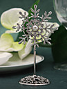 Place Cards and Holders Silver Snowflake Placecard Holder