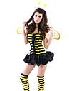 sexig söt Honey Bee kvinnor `s klänning halloween kostym (3pieces)