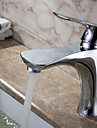 strö ® av lightinthebox - samtida massiv mässing badrum handfat kran (krom)