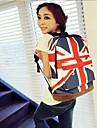 flagga tryckt reseryggsäck