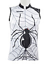 Kooplus 100% Polyester Cykling Vest (Spider)