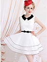 Women's Vintage Sleeveless Swing Dress