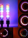 2PCS 5 LED 8 Lägen Ventillampa för Amerikansk Ventil