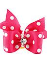 Chat Chien Accessoires pour poils Noeud Papillon Incanardin Vêtements pour Chien Eté Printemps/Automne Nœud papillon Anniversaire Vacances