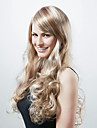 Capless Extra Long Synthetic Golden Blonde With Light Blonde Curly Hair Wig