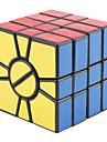 Qiji® Cube de Vitesse  Alien Cubes magiques Noir PVC