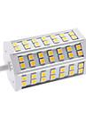 9W R7S Ampoules Maïs LED T 42 SMD 5050 650 lm Blanc Chaud AC 85-265 V
