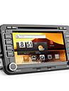 Android 7 tum 2DIN bil dvd-spelare för VW (kapacitiv pekskärm, GPS, TV, WiFi, 3G)