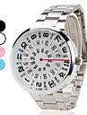 Bărbați Ceas de Mână Unic Creative ceas Quartz Aliaj Bandă Creative Argint