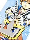 Bijoux Inspiré par Kingdom Hearts Sora Anime/Jeux Vidéo Accessoires de Cosplay Colliers Argenté Alliage Masculin