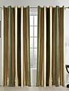 méditerranéens rideaux deux panneaux bande de rayonne de chambre rideaux