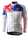 spakct-hiver style de jersey 100% polyester vélo à maintien latéral polaire