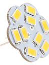 G4 - 4 Bi-pin Lampor (Varmt vit 430 lm DC 12