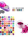 DIY nail art vernis de couleur kit machine à imprimer 72 Art Et Couleurs Nail Glitter