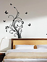 Wall Sticker - pousses romantique (0565 - gz001)