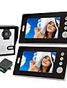 Trådlös Night Vision Camera med 7 tums Dörr Phone Monitor (1camera 2 bildskärmar)