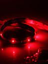 Vattentät 30cm 12-LED Röd lysdiod Strip Light (12V)