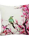 land fågel sammet dekorativa örngott