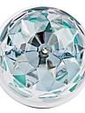 3W E26/E27 Ampoules Globe LED 3 LED Haute Puissance 270 lm RVB Audio-activé AC 85-265 V