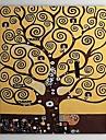 HANDMÅLAD Abstrakt / Känd / Människor / Moderna mästareKlassisk / Moderna / Traditionellt En panel Kanvas Hang målad oljemålning For