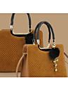 Women's Leopard Woven Crossbody Bag