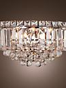 luxuriantes appliques en cristal avec 3 lumières (base de l'ampoule G9)