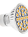 3W GU10 LED-spotlights MR16 29 SMD 5050 170 lm Varmvit AC 100-240 V