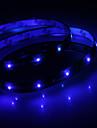 Vattentät 30cm 12-LED Blå LED Strip Light (12V)